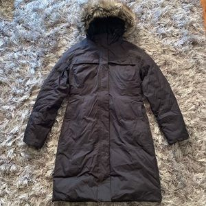 The North Face Hyvent womens puffer Size S
